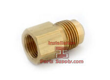 Female x Male SAE 45° Flare Brass Connector Water Oil Air Gas Adapter Fitting