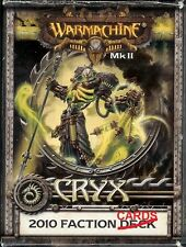 Cryx Warmachine Faction Cards