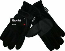 Mens Warm Thinsulate Fleece Gloves 40G