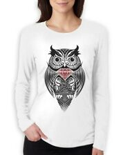 DIAMOND OWL Women Long Sleeve T-Shirt Wasted Dope Fresh DIS OBEY hipster SWAG
