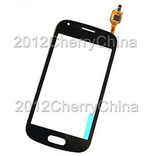Touch Screen Digitizer Glass Panel For Samsung Galaxy Ace 2X S7560M Black White