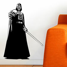 DARTH VADER, LARGE WALL STICKER, Silhouette, Star Wars, Decal, WallArt, SS1351