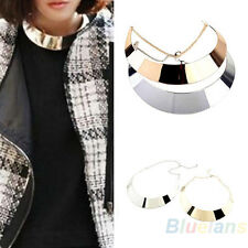 Stylish Womens Occident Fashion Decent Metal Collars Punk Necklace Hot Sale B94U