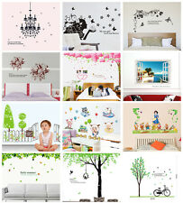 Large Vinyl Removable Living Room Bedroom Home Decor Wall Stickers Decal Mural