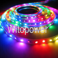 WS2812B WS2811 RGB LED Strip 5M 150 300 Leds 60LED/M Individual Addressable 5V