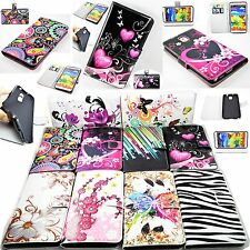 Flip Leather Wallet Soft Case Cover For Samsung Galaxy Note 3 III N9000 N9005