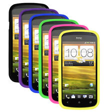 Silicone Soft Rubber Skin Cover Case for HTC One S