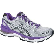 NEW ASICS WOMENS LADIES KAYANO 18 RUNNING TRAINING FITNESS SHOES - IN STOCK