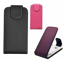 Flip Leather Case Cover Pouch for Nokia ASHA 206