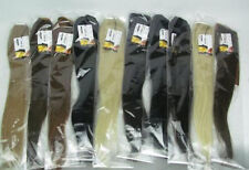 """Wholesale 16""""20""""24""""28"""" Ponytail clip-on Remy Human Hair Extensions 80g 100g 120g"""