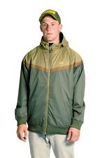 Mens NEW Green Fully Waterproof Windproof Midweight Jacket *All Sizes*