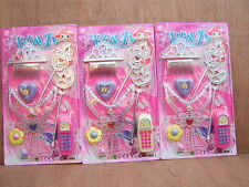 Girls Beauty Fashion Accessories Set.Carded item. Pretend Play. 3 to choose from