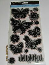 Recollections Cling Stamps~~Choose Theme~~Baby~Baby Animals~Butterflies~Heritage