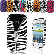 STYLISH PRINTED TPU GEL CASE COVER FOR SAMSUNG GALAXY YOUNG S6310+SCREEN FILM