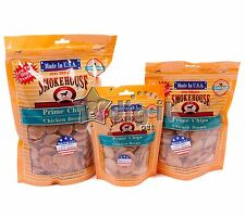 Smokehouse 100% Natural Prime USA Chicken Chips - Natural Dog Treats Made in USA