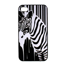 Zebar Horse Barcode Pattern Hard Back Case Cover Skin for Apple iPhone 4 4S 5 5S