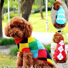 Hot 10 size pet dog clothing sweater appreal Dog Clothes Winter Jacket Jumper