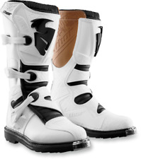 NEW MENS MX MOTOCROSS ATV RIDING BOOTS THOR BLITZ WHITE ALL SIZES 7-15