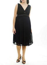 New MATERNAL AMERICA MATERNITY Romantic Little Black Cocktail Evening Dress