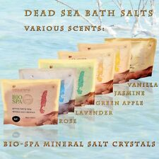 Dead Sea Bath Salts - Bio Spa Mineral Salt Crystals - Sea-of-Spa (500gr)
