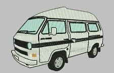 VW Auto Cruiser Camper Embroidered & Personalised Clothing