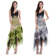 Ever Pretty Sexy Asymmetric Womens Party Cocktail Evening Formal New Dress 6212B