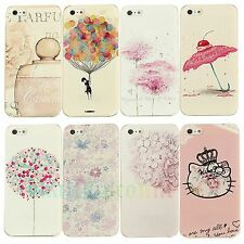 Paint Various Pattern Hard Skin Back Case Cover Phone for Apple IPhone 4 4S 5 5S