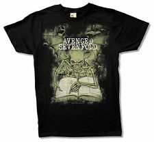 "AVENGED SEVENFOLD ""SCRIPTURES"" BLACK T SHIRT NEW OFFICIAL ADULT A7X"
