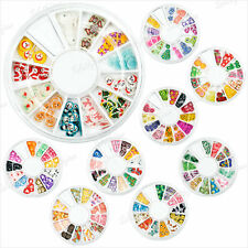 1Carrousel 120pc Fimo Mixte 3D Poterie Clay Tranche Nail Art Deco Ongle Manucure