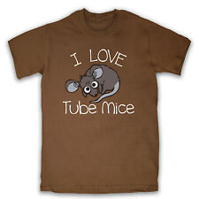 I LOVE TUBE MICE LONDON UNDERGROUND CUTE MOUSE MENS LADIES T SHIRT TEE ALL SIZES