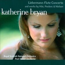 Liebermann Flute Concerto and works by Hue, Poulenc & Nielsen, New Music