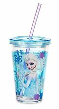 FROZEN~ANNA+OLAF+ELSA~SiPPy CuP or ELSA TuMbLeR with StRaW NWT~Disney Store-2013