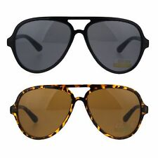 Classic Tear Drop Plastic Racer Aviator Sunglasses New (3 Color Options)