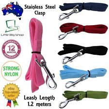 Pet Dog Puppy Cat New Training Leash Lead attach Harness Collar Multiple Colours