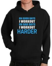 Work Out Harder Hoodie Bodybuilding Gym exercise Best Workout Motivation