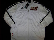 Adidas Men's Miami Heat On Court Jacket NWT