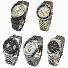 Luxurious Best Selling Stainless Steel Design Mens Quartz Wrist Watch Watches