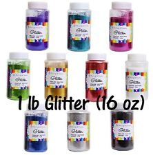 Craft Glitter One Color 16oz. (1lb)