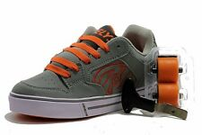Heelys Boy's Motion HSY703 Fashion Skate Sneakers Grey/Orange Shoes