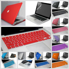 3in1 11 Color Rubberized Hard Case Cover For Macbook Pro 13/13.3inch A1278 MD101