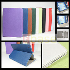 NEW PU Leather Wallet Flip Pouch Stand Case Cover For iPad mini+Stylus