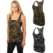 URBAN CLASSICS LADIES CAMO LOOSE TANK