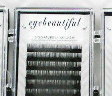 Premium MINK Individual Lashes Mixed Length J C D B Curl Eyelash Extension