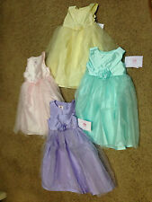 NWT Marmellata Pastel Tulle Pageant  Wedding Easter  Birthday Dress SZ 2T-4T