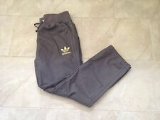 L@@K BRAND NEW ADIDAS ORIGINALS HC PANTS TROUSERS MENS STREET STYLE GREY GOLD