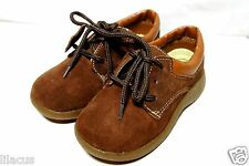 Coco Jumbo Toddler Lace-Up Suede Leather Oxfords In Color Size Available - New