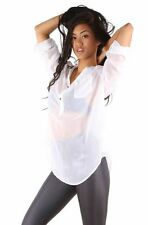 IRON FIST LADIES SPINELESS WHITE NUDE BLOUSE (L4B)
