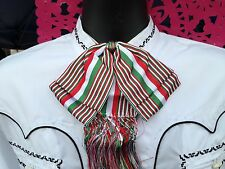 Mexican Charro and Mariachi Tricolor Adult Bow Tie From Mex.Moño Charro/Mariachi