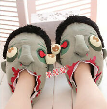 creative funny zombie plush toy Big household slipper Valentine's Day gift 1pair