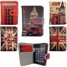 Vintage Flip Leather Wallet Case Cover For Samsung Galaxy S3 Mini i8190